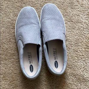 Dr. Scholls grey slide on Shoes
